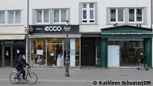Geschlossene Geschäfte in Bonn