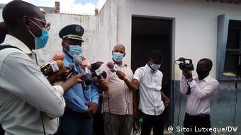 Mosambik | Zacarias Nacute - Sprecher der mosambikanischen Polizei in Nampula