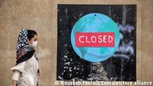 Iran | Coronakrise: Graffity in Teheran