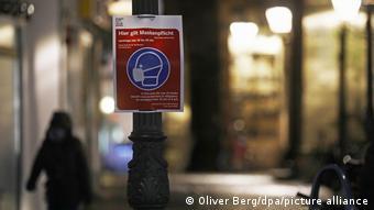 Γερμανία / κορωνοϊός / πινακίδα στη Βόννη