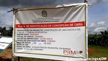 PIIM work plate - Construction of a school in Banga- kuanza Norte   Angola - 12.03.2021