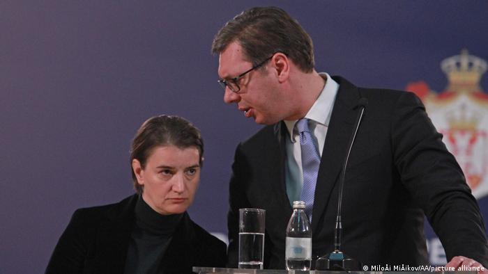 Premijerka Srbije Ana Brnabić i predsjednik Aleksandar Vučić