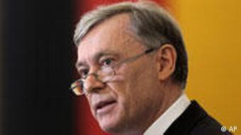Former German president Horst Koehler