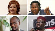 Afrika Bildkombo Opposition ist mit Justizproblemen konfrontiert