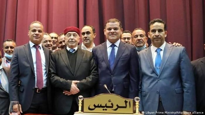 Libyen Sirte Parlament