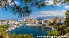 Griechenland | Bucht von Agios Nikolaos auf der insel Kreta