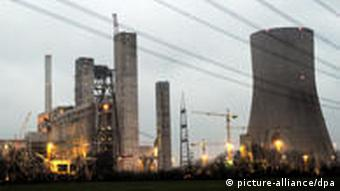 A nuclear power station in Germany