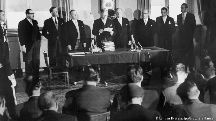 4 января 1960 года в Стокгольме было подписано соглашение о создании Европейской ассоциации свободной торговли (EFTA).