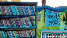 Indien Delhi Tikri border | Library Trolley Times