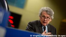 EU-Kommissar Thierry Breton | Batterie-Produktion in Europa geplant