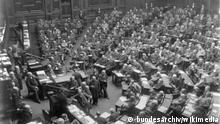 Plenarsitzungssaal des Reichstags, 1889 in der Leipziger Straße 4