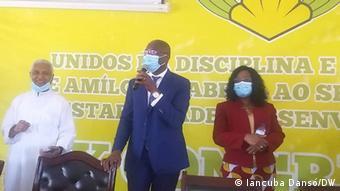 Domingos Simões Pereira zurück in Bissau