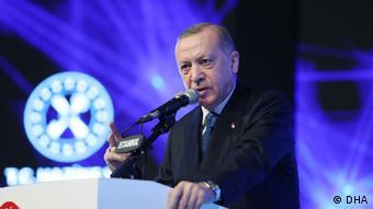Türkei Istanbul Präsident Recep Tayyip Erdogan