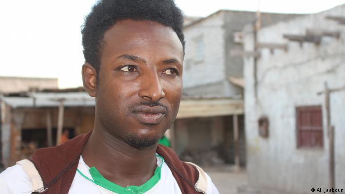 المهاجر الإثيوبي في اليمن علي مصطفى