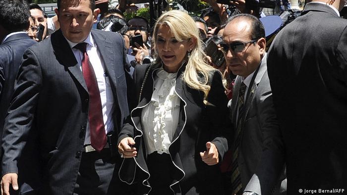 Jeanine Áñez, política boliviana.