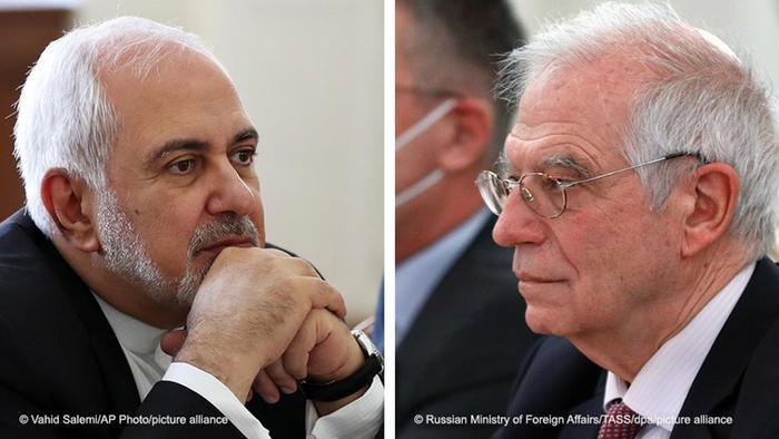 مسئول سیاست خارجی اتحادیه اروپا، وزیر خارجه جمهوری اسلامی