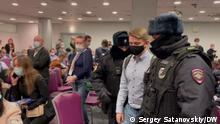 Russland |Forum für kommunale Abgeordnete in Moskau | Festnahmen