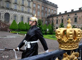 Шведский гвардеец