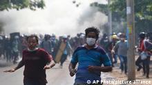 Myanmar | Proteste gegen Militärführung in Mandalay