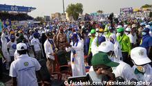 Tschad l Auftakt des Präsidentschaftswahlkampfs von Idriss Déby Itno