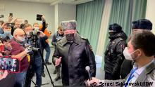 Russland Razzia l Festnahme Oppositioneller in Moskau