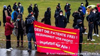 Κινητοποίηση στο Βερολίνο για την άρση της πατέντας