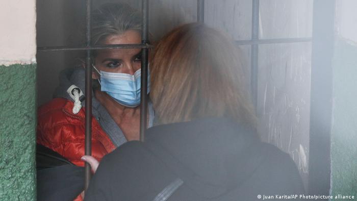 Foto de Jeanine Áñez en prisión