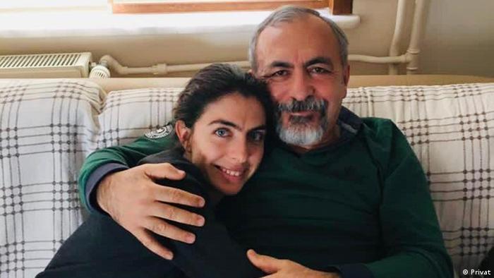 Dr. Rıza Ferruh İlter ve kızı Duygu İlter