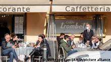 Italien | Coronavirus | Straßenszene in Rom