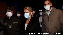 Bolivien Haftbefehl gegen Boliviens Ex-Übergangspräsidentin Jeanine Anez
