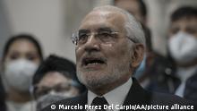 Bolivien Haftbefehl gegen Boliviens Ex-Übergangspräsidentin Jeanine Anez | Carlos Mesa