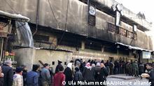 Syrien I Lebensmittelknappheit in Aleppo