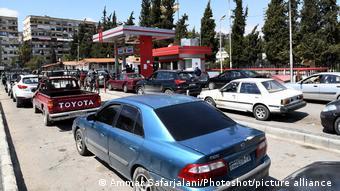 Συρία, πρατήριο βεμζίνης