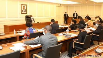 Konferenz der Fraktionsvorsitzenden in der angolanischen Nationalversammlung
