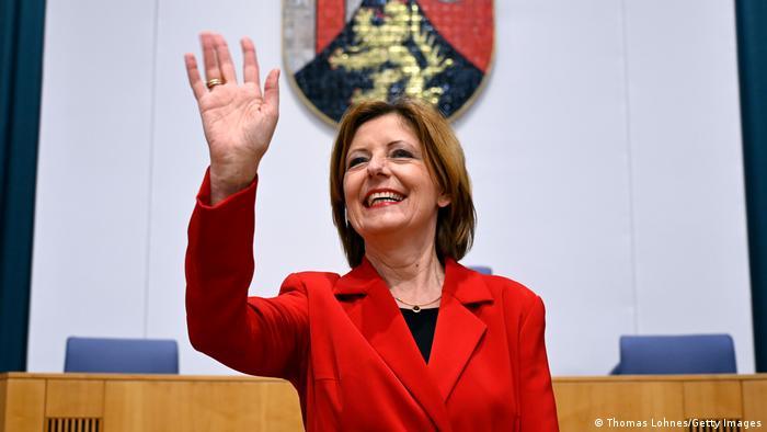 Rhineland-Palatinate state premier Malu Dreyer