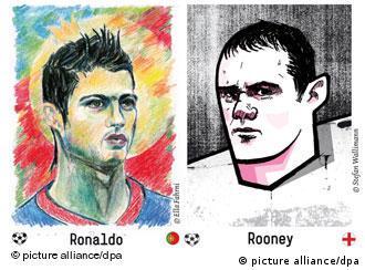 Ronaldo i Rooney