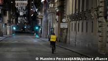 Italien | Coronakrise: Leere Straßen in der Innenstadt Roms