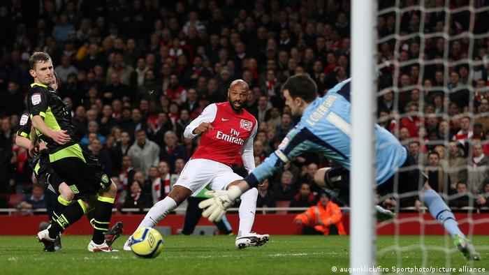 Thierry Henry Toptorjäger der Champions League