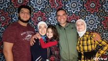 Brasilien syrische Flüchtlingsfamilie