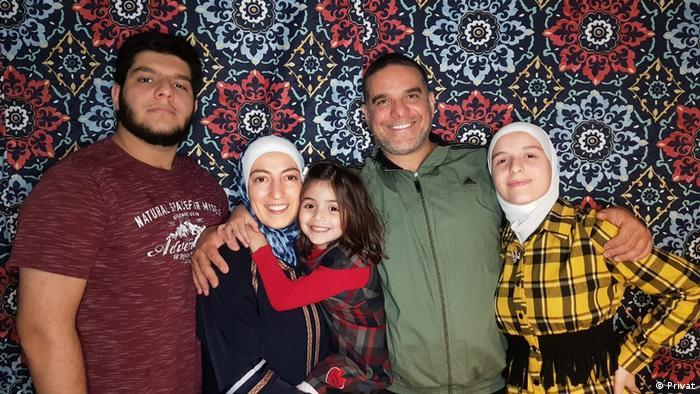 Família síria no Brasil