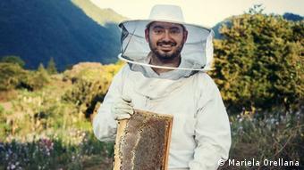 Ahmid Daccarett, fundador y director del emprendimiento Beehub Guate.