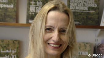 Tina Birmpili, Secretaria Ejecutiva Adjunta de la Convención de las Naciones Unidas para la Lucha contra la Desertificación (UNCCD).