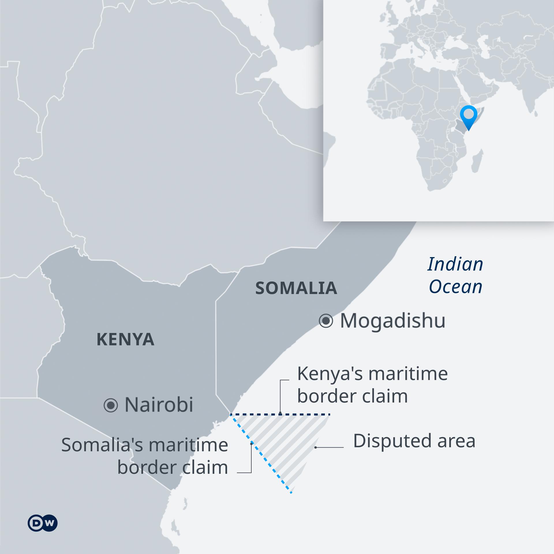 Infografik Seegrenzen Somalia Kenia EN