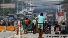 TABLEAU |Myanmar Yangon |nach Militärputsch | Protest