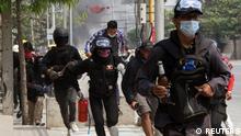 TABLEAU |Myanmar Mandalay |nach Militärputsch | Protest