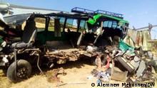 Bei einem Verkehrsunfall kamen 29 Menschen in der äthiopischen Region Amhara ums Leben Wo-East Gojjam, Äthiopien Wann- 15.03.2021 Autor Alemnew Mekonnen (DW-Korrespondent)