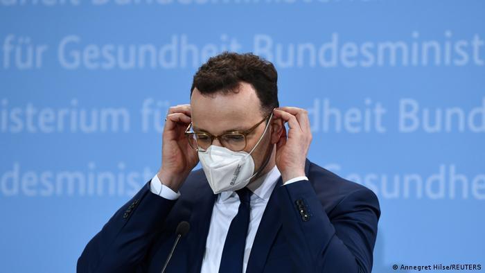 Jens Špan, ministar zdravlja u Nemačkoj