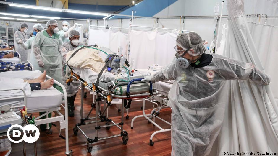 Brasil registra 570 mortes por covid-19 em 24 horas