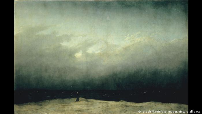 Картина Монах у моря Каспара Давида Фридриха