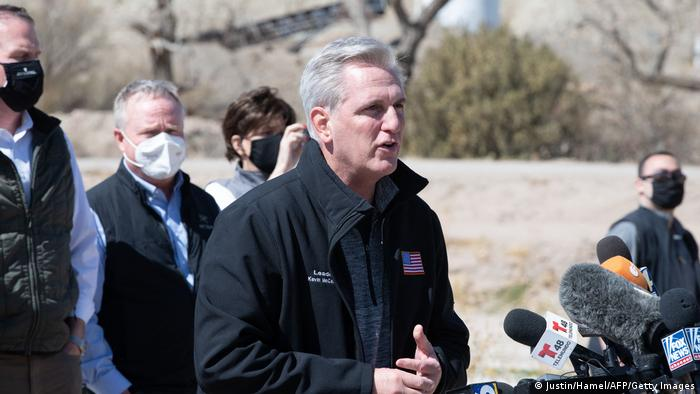USA El Paso Grenze Mexiko Kevin McCarthy PK